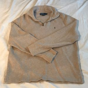 Polo by Ralph Lauren • quarter zip sweater